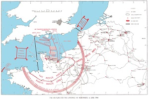 D Day Normandy Invasion Air Plan