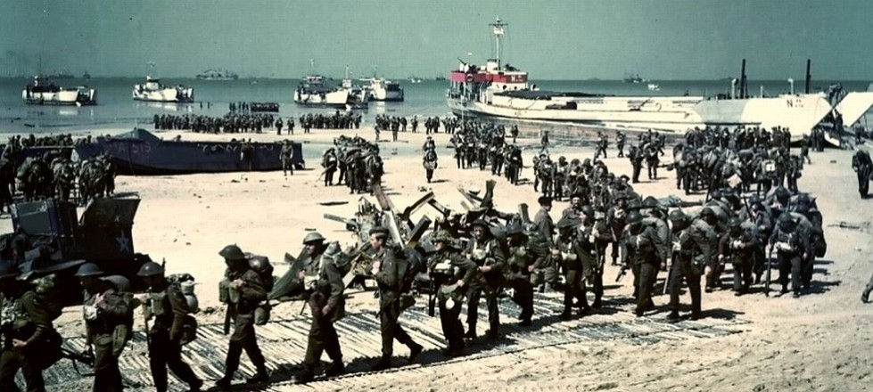 D Day Landings Juno Beach Normandy WW2 June 1994 Guided tours