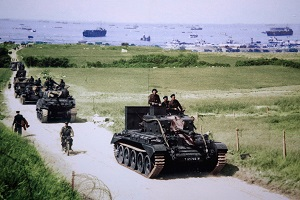 Gold beach Cromwell Tank Normandy Invasion