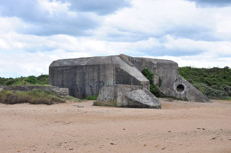 View the defences on Sword Beach and imagine the bravery of the men who had to attack and capture it.