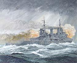 Battle for the Barents Sea HMS Sheffield