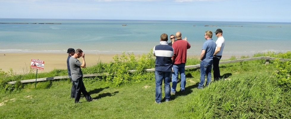D Day beach landing tours normandy
