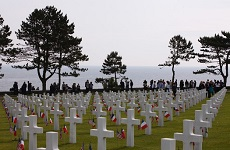 D Day Cemetery tours war graves Normandy Invasion