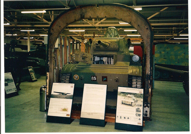 D Day Landings Flying Tetrarch Tank