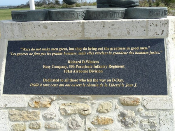 Dedicated to all those who led the way on D-Day. Utah Beach, Normandy