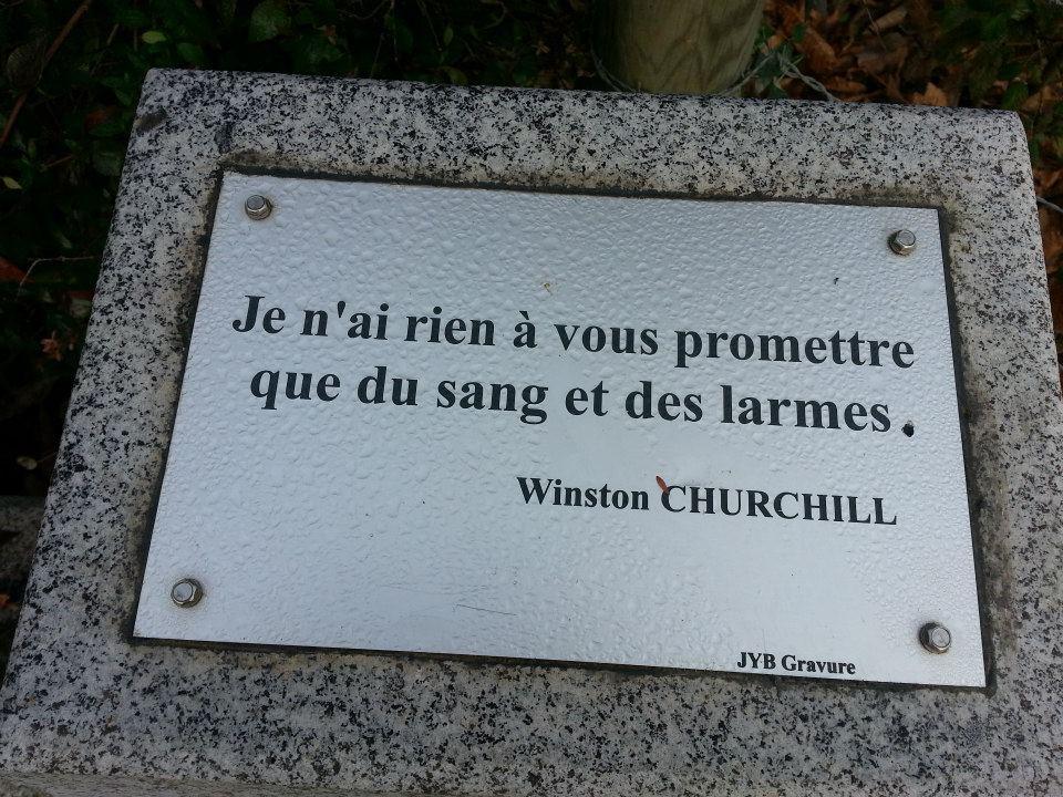 Memorial Britannique, St. Anne - Romagne, 35133 Brittany Churchill