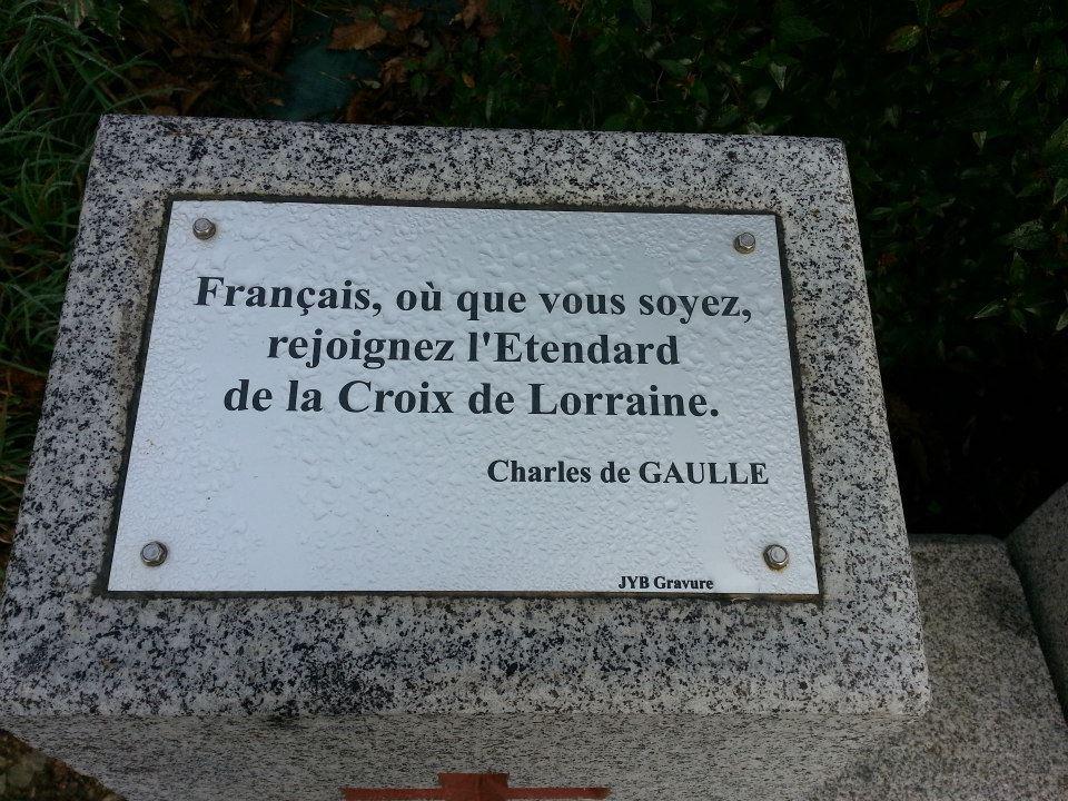 Memorial Britannique, St. Anne - Romagne, 35133 Brittany De Gaulle