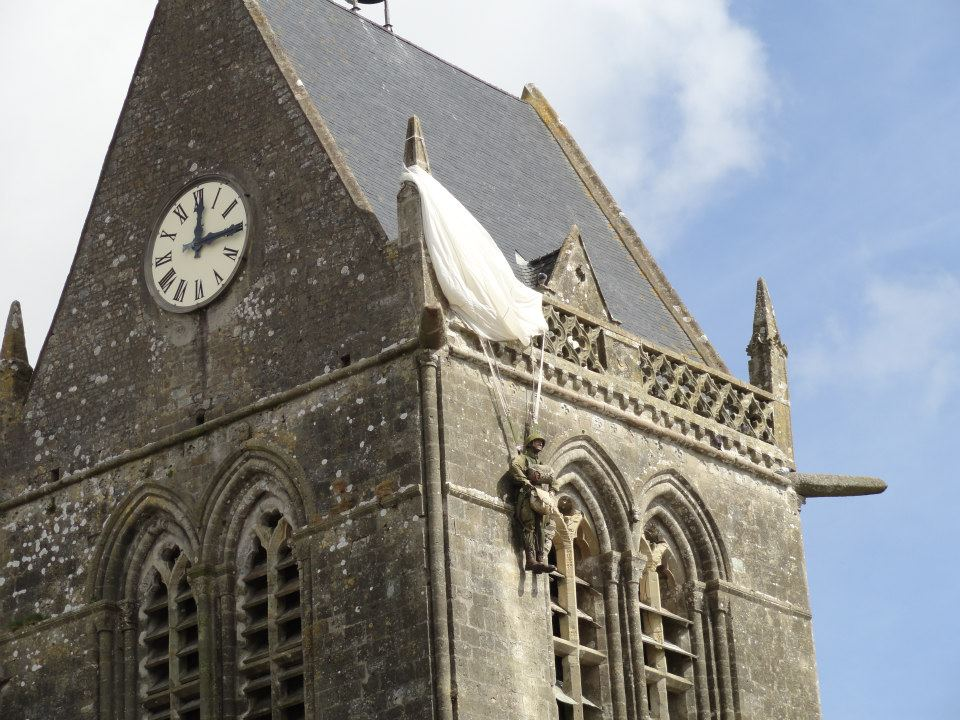 D Day St Mere Eglise Private John Steele