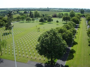 St James Cemetery, Malcolm Clough, D Day Tours