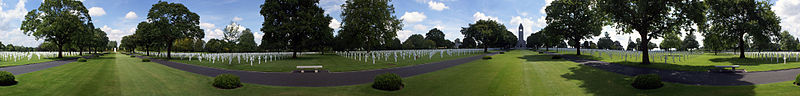 St James American cemetery Malcolm Clough D Day Tours