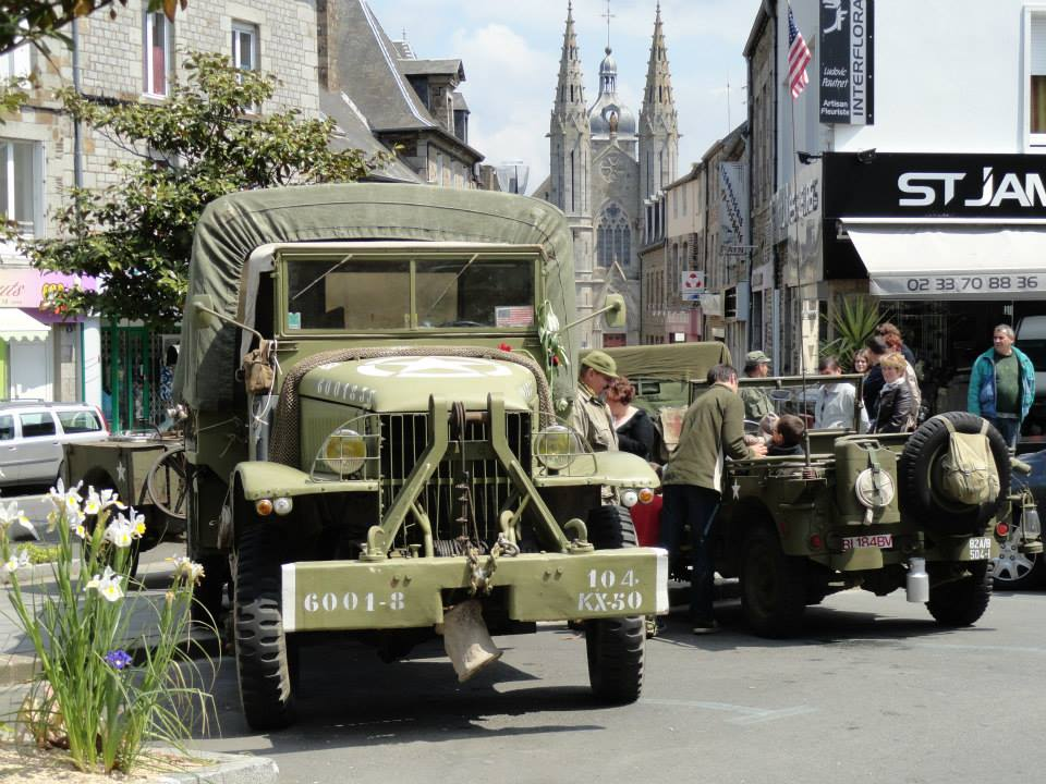 Fete de la Liberation St Fames Normandy Malcolm Clough D Day Tours