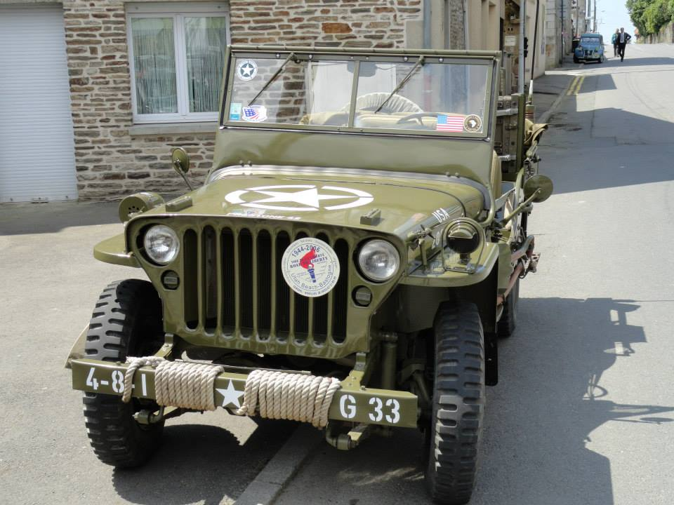 Fete de la Liberation, St James, Normandy. Malcolm Clough D Day Tours