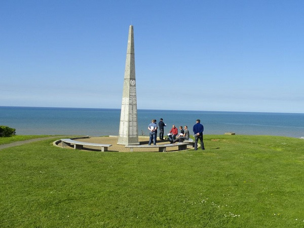 Omaha Beach, !st Infantry Division, WN 62, Malcolm Clough D Day Tours