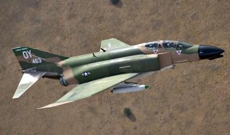 Malcolm Clough D Day Tours USAF F4 Phantom