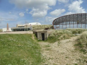 Malcolm Clough Utah Beach Exhibition Hall