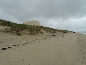 D Day Tours Malcolm Clough Utah Beach looking North