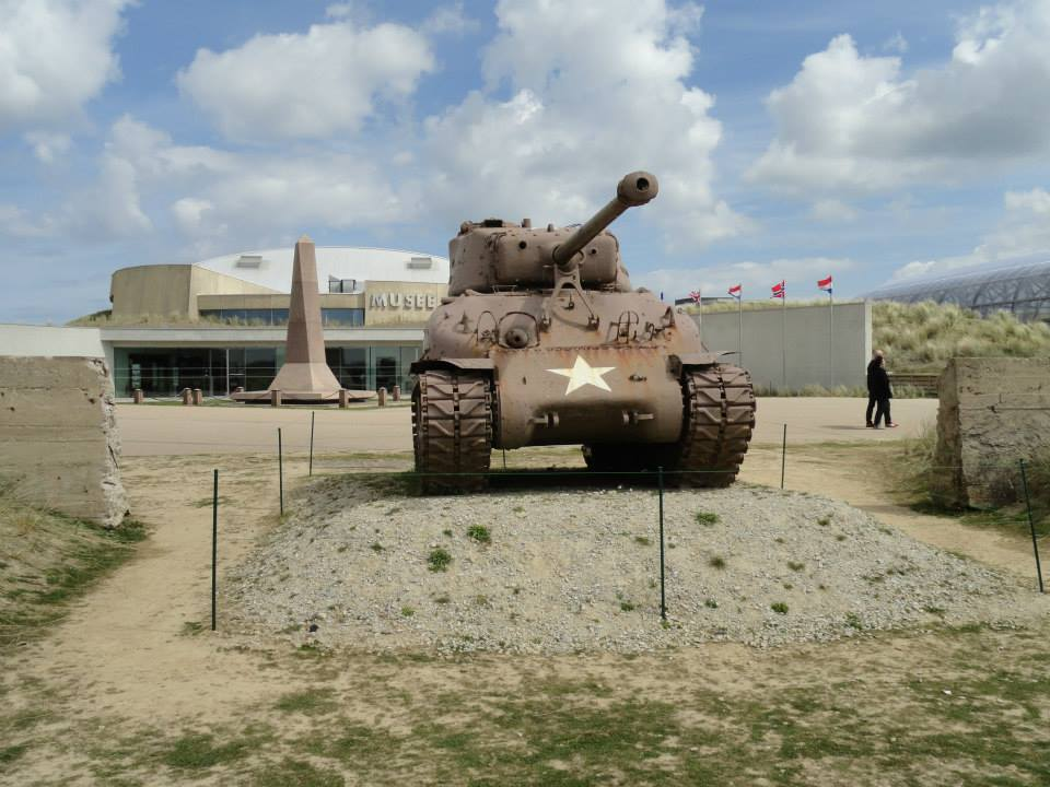 Sherman Tank D Day Malcolm Clough M4 With The Utah Beach Museum