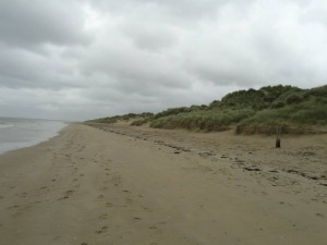 Malcolm Clough D Day Tours Utah beach Looking South