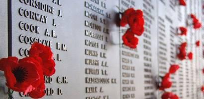 remembrance Day 2013, Malcolm Clough