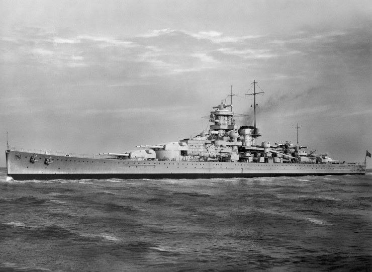 Scharnhorst Battle Cruiser, Malcolm Clough