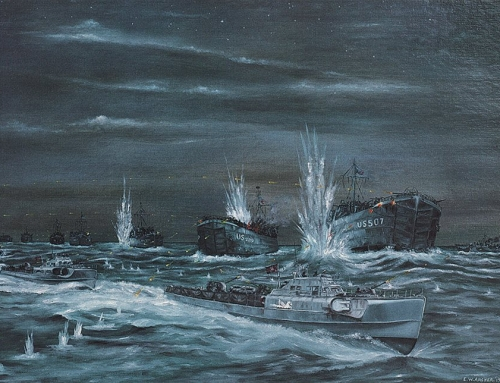 Exercise Tiger. D-Day Landings Rehearsals