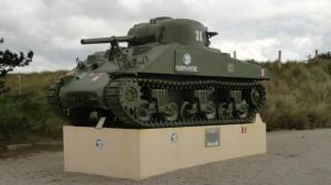 Varaville tank monument