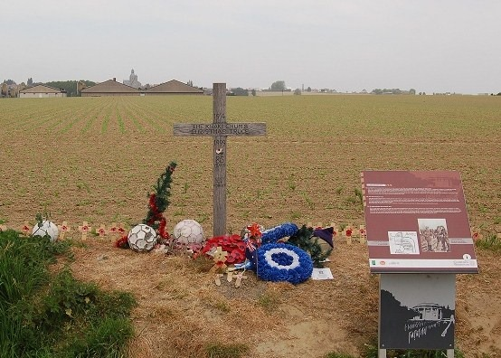 Christmas Day Truce Ploegsteert, Belguim. Malcolm Clough