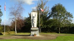 507th Parachute Infantry Regiment Memorial by Malcolm Clough