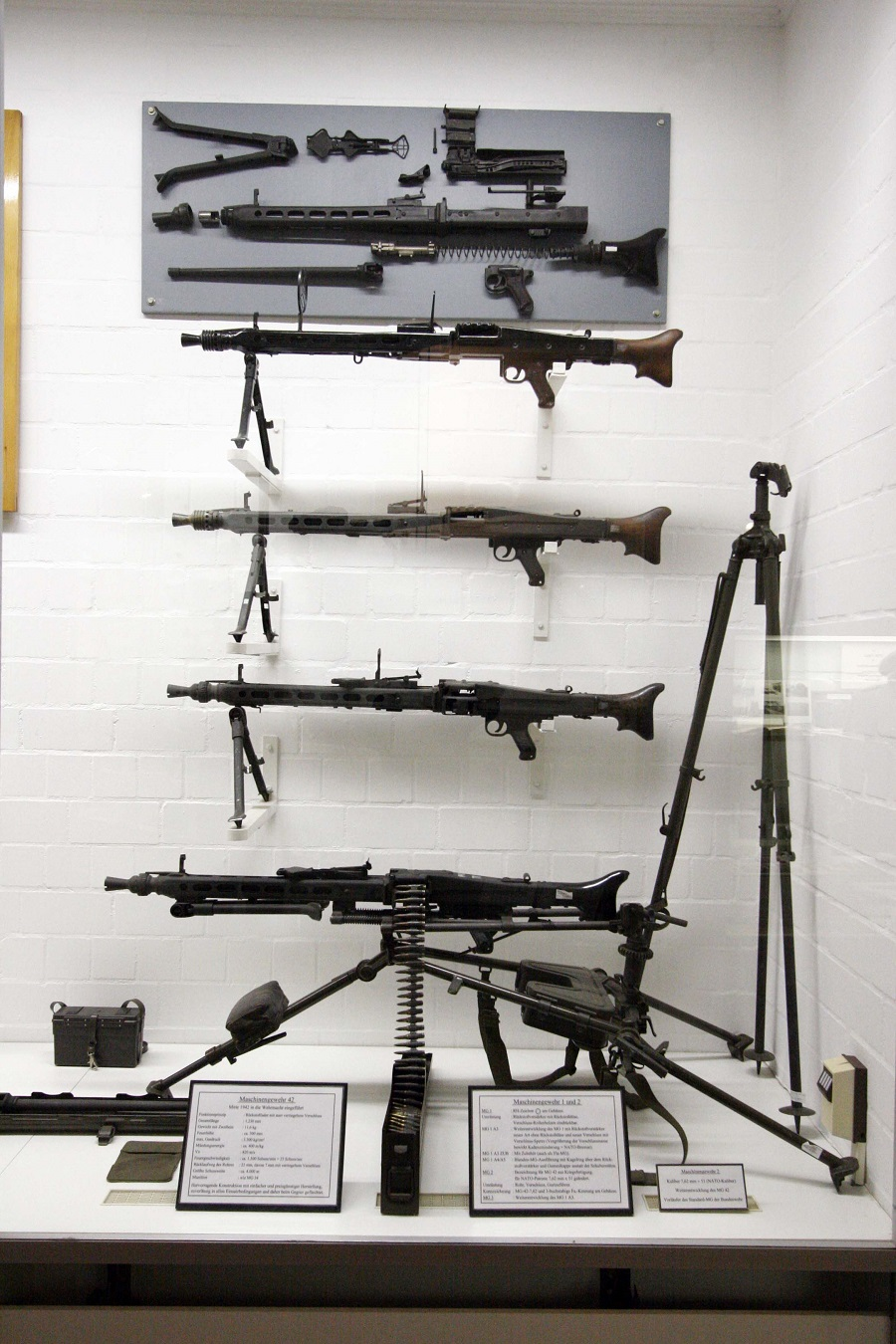 MG 42 in different variants