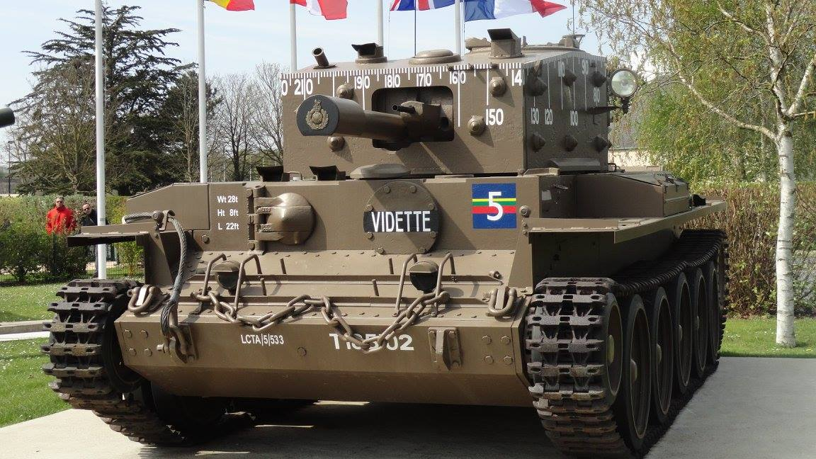 Centaur Infantry Support Tank at Musée Pegasus Memorial