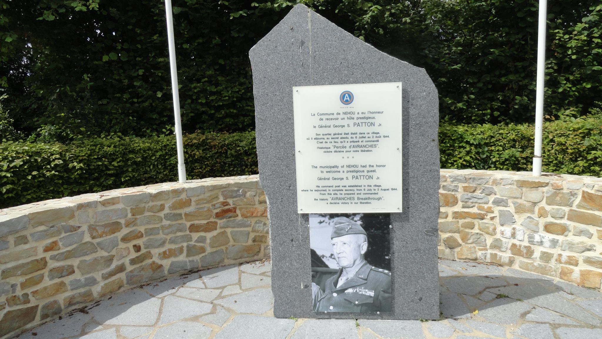 Canp Patton Lucky Forward Normandy