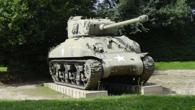 George S patton Memorial Sherman Tank