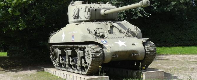 George S patton Memorial Sherman Tank