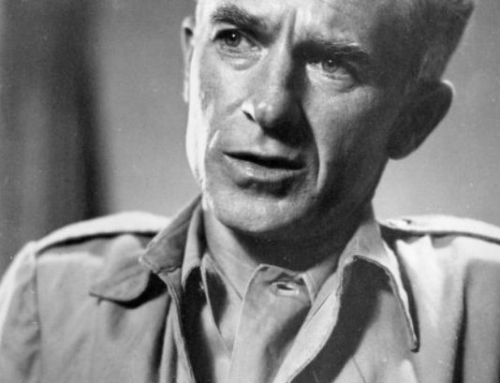 Ernie Pyle and Professor Stephen Krankhe