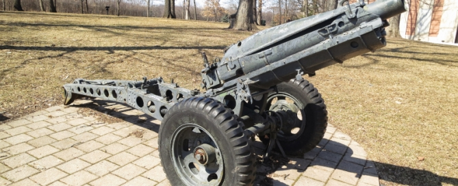 6th Airborne Division 75mm Pack Howitzer