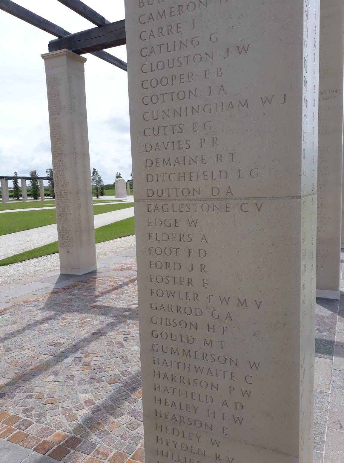 British Normandy Memorial at Ver sur Mer