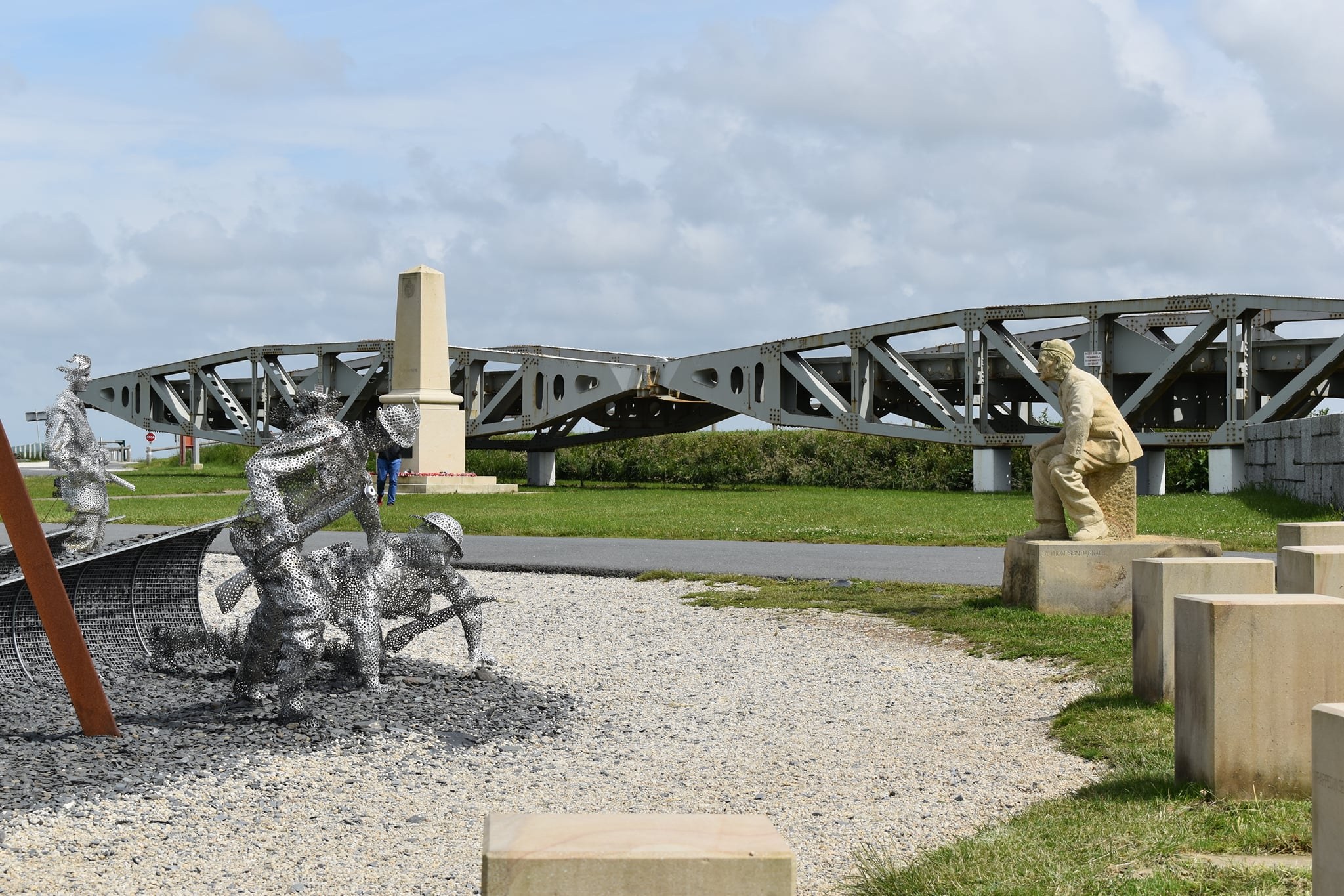 D-Day 75 Garden at Arromanches by John Everiss